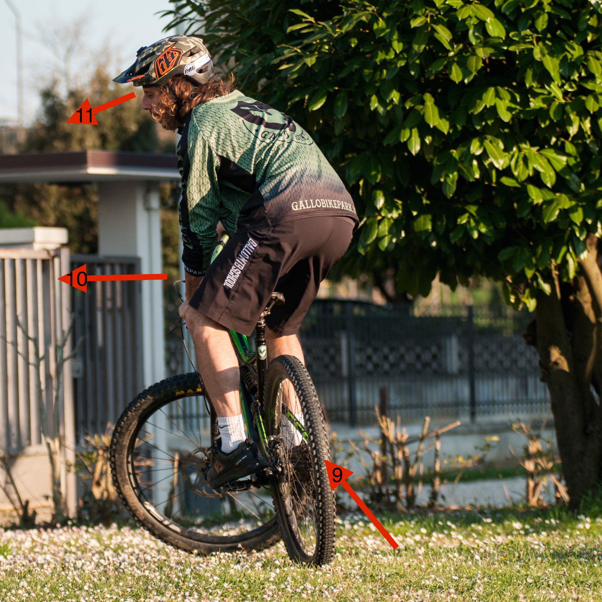 fase 5 fakie tutorial mountainbike come fare