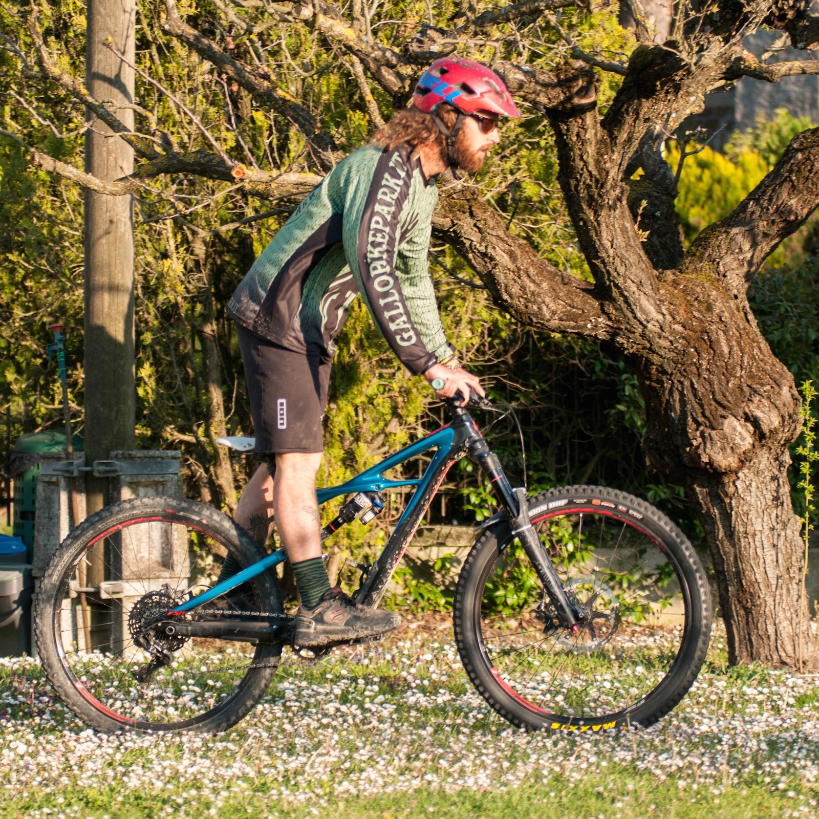 Tutorial hop in mountainbike